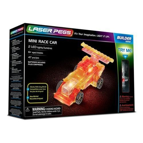 Mini Race Car - Laser Pegs