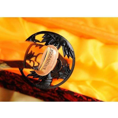 Kuźnia mieczy samurajskich Sztylet samurajski tanto, stal wysokowęglowa 1095, hartowany glinką r320