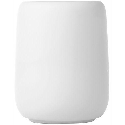 Kubek ceramiczny na szczoteczki do mycia zębów blomus sono biały (b66275)