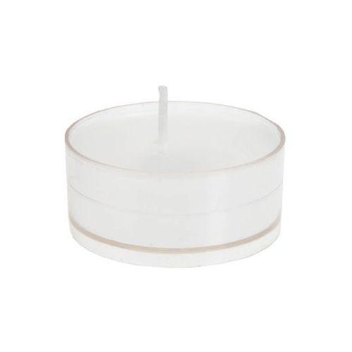 Santex Świeczki tealight okrągłe białe - 4 szt (3016600110336)