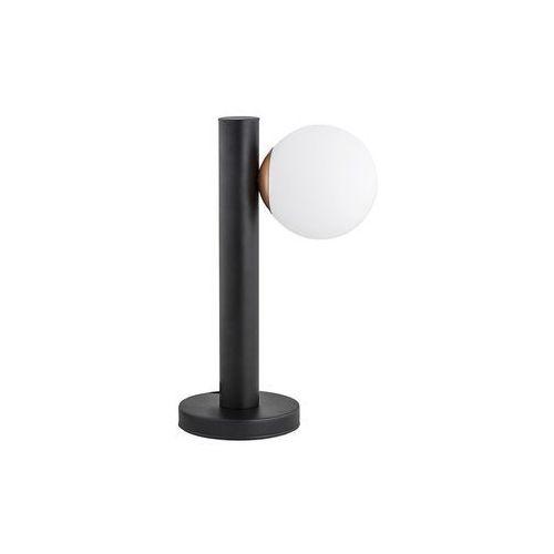 Lemir ente o2818 l1 cza lampka stołowa 1x40w e14 czarny mat / miedź (5902082869207)