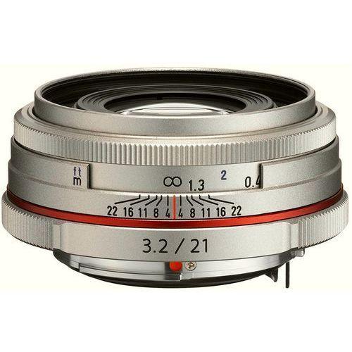 hd da 21mm f/3.2 al limited (srebrny) - produkt w magazynie - szybka wysyłka! marki Pentax
