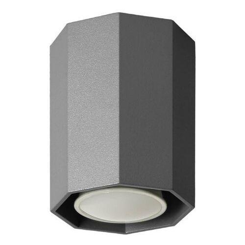 Lampex Lampa sufitowa okta 10 czarna (5902622121871)