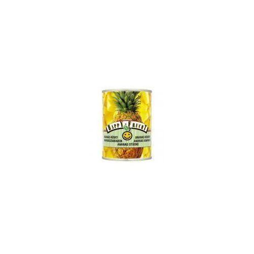 Ananas kawałki happy frucht 565 g marki Vog