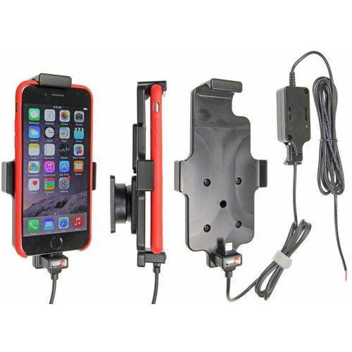 Brodit ab Uchwyt do apple iphone 8 w futerale z wbudowaną ładowarką samochodową do instalacji na stałe (7320285276628)