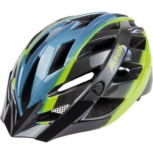 Alpina panoma kask rowerowy niebieski/kolorowy 56-59cm 2018 kaski rowerowe (4003692261762)