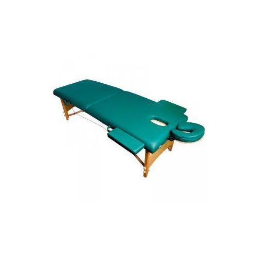Stół składany do masażu komfort wood at-007r green marki Vanity_a