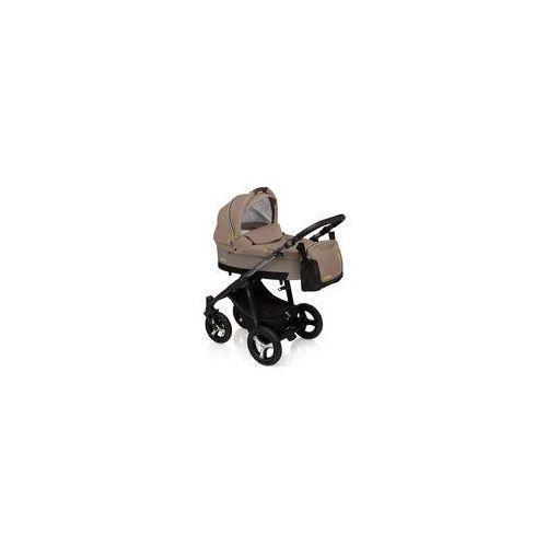 Wózek wielofunkcyjny husky lupo  (beżowy + winter pack) marki Baby design
