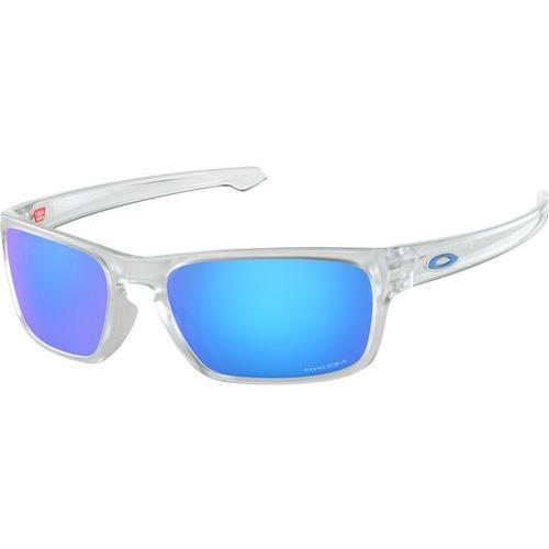 Oakley sliver stealth okulary rowerowe przezroczysty/turkusowy 2018 okulary sportowe