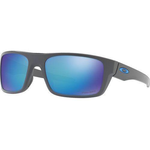 drop point okulary rowerowe niebieski/czarny 2018 okulary przeciwsłoneczne marki Oakley