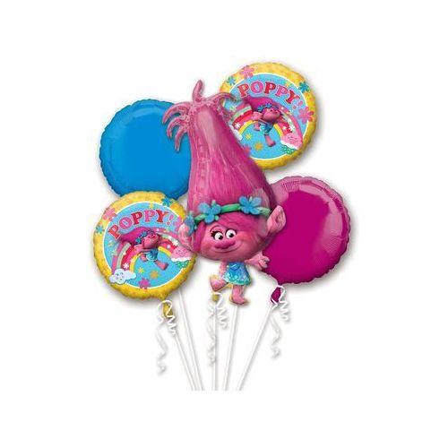 Amscan Bukiet balonów foliowych trolle - 1 kpl.