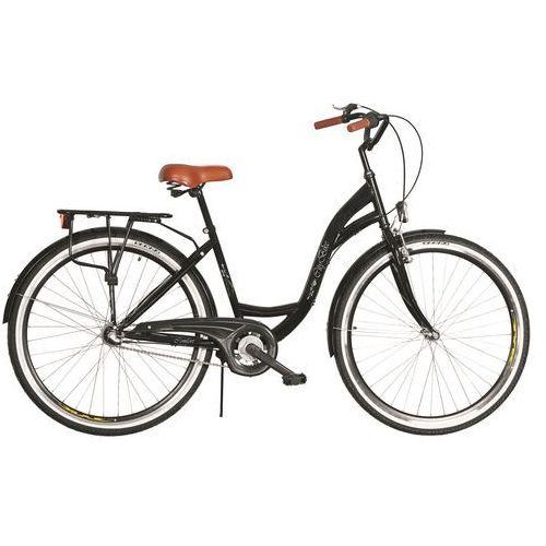 Rower DAWSTAR Citybike 26 Czarny S3B + DARMOWY TRANSPORT! + Zamów z DOSTAWĄ JUTRO! + 5 lat gwarancji na ramę!