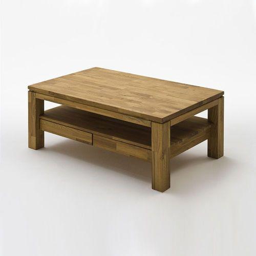 Fato luxmeble Ramzej dębowy stolik kawowy z dwoma szufladami