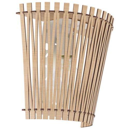 kinkiet SENDERO odcień drewna, EGLO 96195