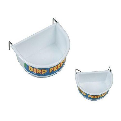 Duży pojemnik na pokarm lub wodę dla ptaków marki Hp birds