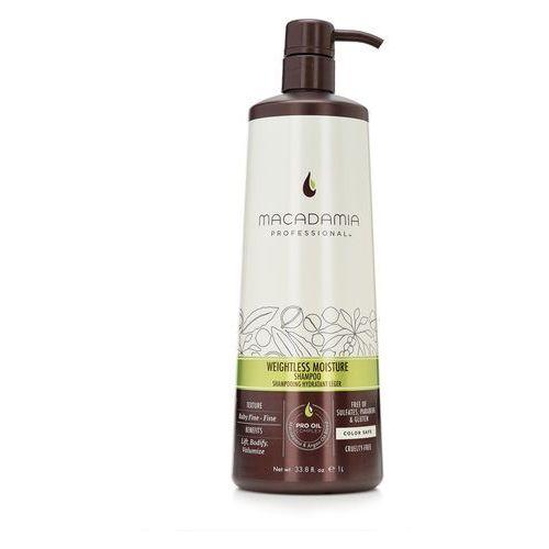 Macadamia  weightless moisture - nawilżajcy szampon do włosów cienkich 1000ml