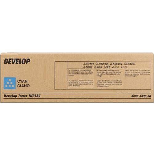 Develop toner Cyan typ TN318, TN-318C, A0DK4D3
