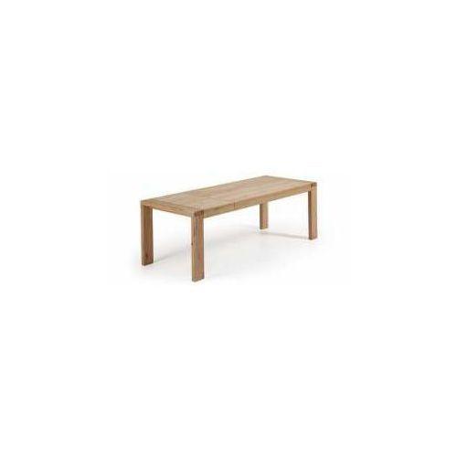 LaForma:: Stół VIANA 200 (280) x 100 cm Naturalne Wykończenie