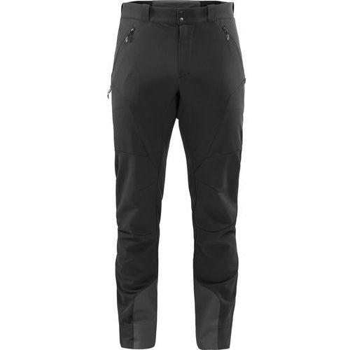 Haglöfs Roc Fusion Spodnie długie Mężczyźni czarny L 2018 Spodnie Softshell, 1 rozmiar