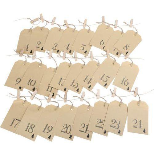 Legler Kalendarz adwentowy - papierowe torebeczki