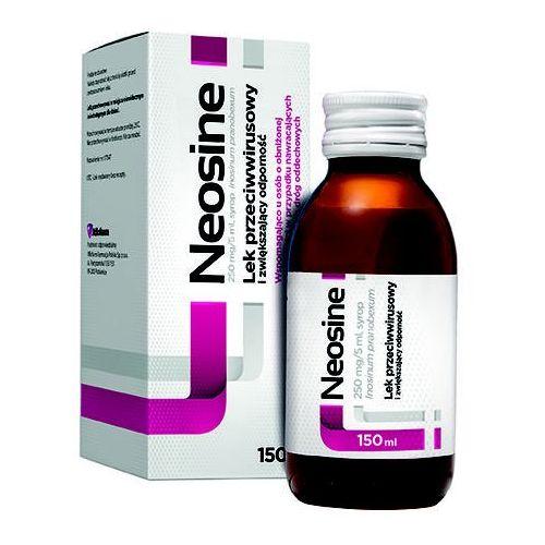 NEOSINE 250 mg/5 ml syrop 150 ml (5909990833603)