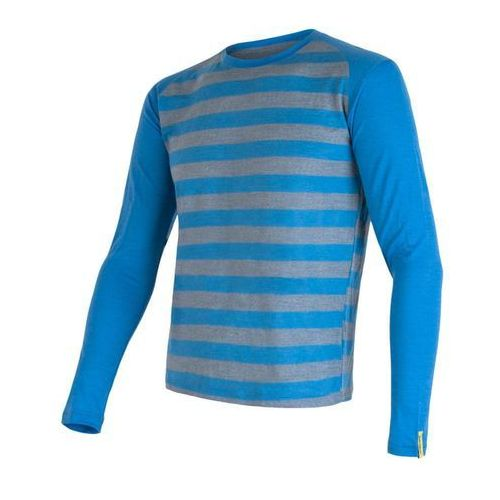 Sensor Bluzka Merino Wool Active M Blue stripes S