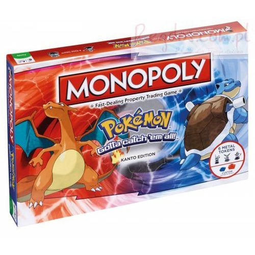 Monopoly Pokemon Kanto Edition, 10623