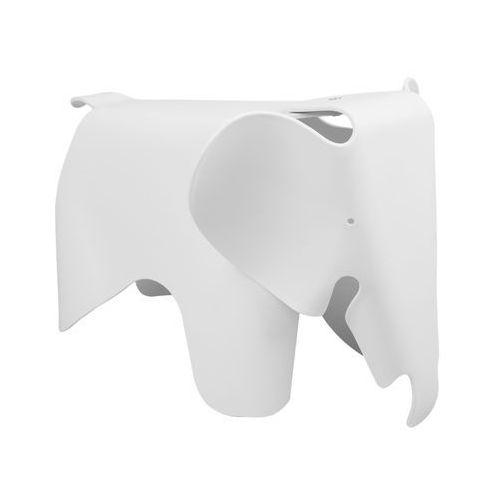 Stołek słonik pc-027.white - - sprawdź kupon rabatowy w koszyku marki King home