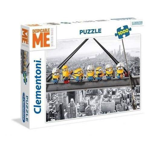 Puzzle High Quality Collection Minionki Atop a skyscraper 1000 (8005125393701)