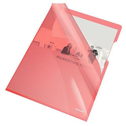 Ofertówka krystaliczna czerwona a4 150mic. 25szt. marki Esselte
