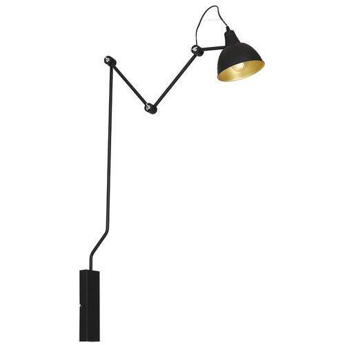 Aldex Lampa oprawa ścienna kinkiet bibi 1x60w e27 czarna 843c/1 >>> rabatujemy do 20% każde zamówienie!!!