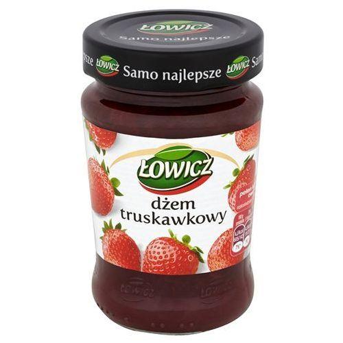 Łowicz  280g dżem truskawkowy niskosłodzony