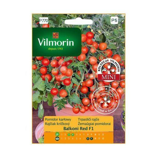 Vilmorin Pomidor karłowy balconi red mieszaniec f1 nasiona tradycyjne 0.1 g (5907617320420)