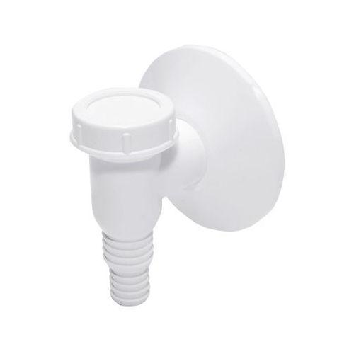 Tycner syfon pralkowy natynkowy biały marki Obi