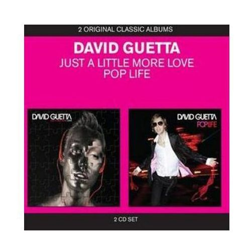 DAVID GUETTA - JUST A LITTLE MORE LOVE / POP LIFE - Album 2 płytowy (CD), 0954792