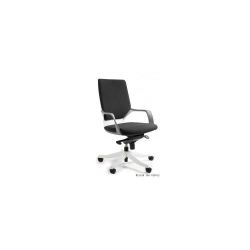 Krzesło biurowe apollo m biały/ czarny marki Unique meble