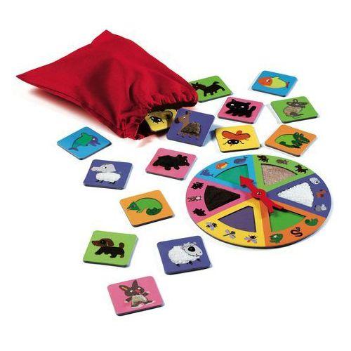 Gra edukacyjna - dotykowe lotto ruletka dj08129 marki Djeco