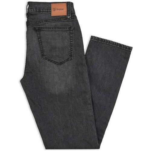spodnie BRIXTON - Reserve 5-Pkt Denim Pant Worn Black (WRBLK) rozmiar: 33X32, kolor czarny