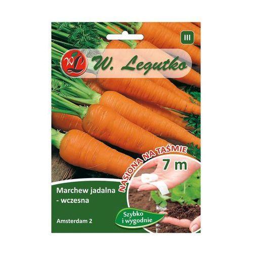 Marchew wczesna Amsterdam 2 nasiona na taśmie 7m LEGUTKO, 5903837493432