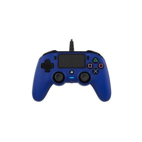 OKAZJA - Gamepad wired compact controller pro ps4 (ps4hwnaconwccblue) niebieski marki Nacon