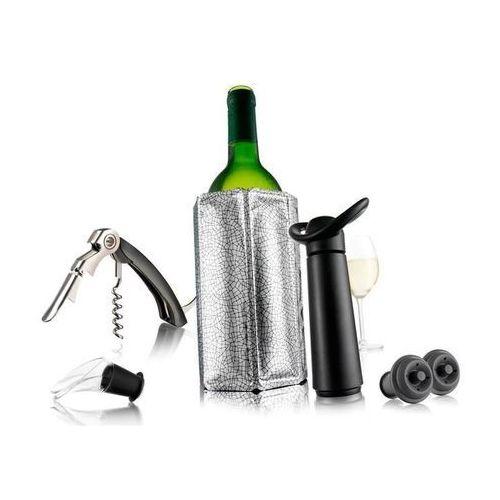 Zestaw do wina niezbędnik Vacu Vin czarny ODBIERZ RABAT 5% NA PIERWSZE ZAKUPY (8714793688902)