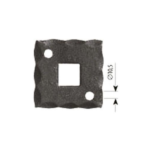 Szyld maskujący otwór 6 mm fi 105 mm