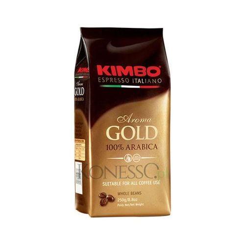 Kimbo Aroma Gold 250g kawa ziarnista, KIM.ARO.GOLD.250.ZIA