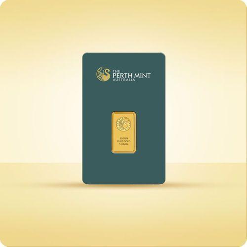 5 g Sztabka złota CertiCard