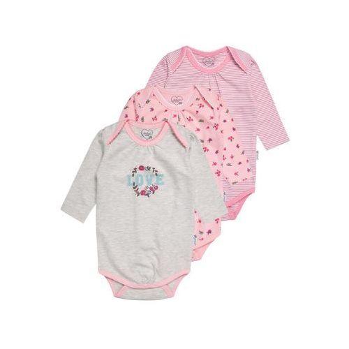 Gelati Kidswear LONGSLEEVE SUPERGIRL 3 PACK Body multicolor