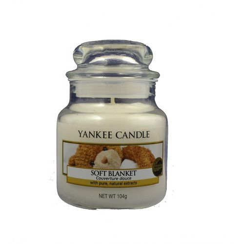 Yankee candle słoik mały soft blanket 104g (5038580062106)
