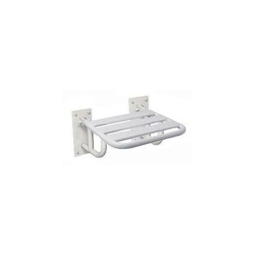 Siedzisko natryskowe | podnoszone | białe