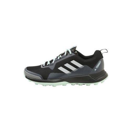 adidas Performance TERREX CMTK W Obuwie do biegania Szlak black/white/ash green, kolor czarny
