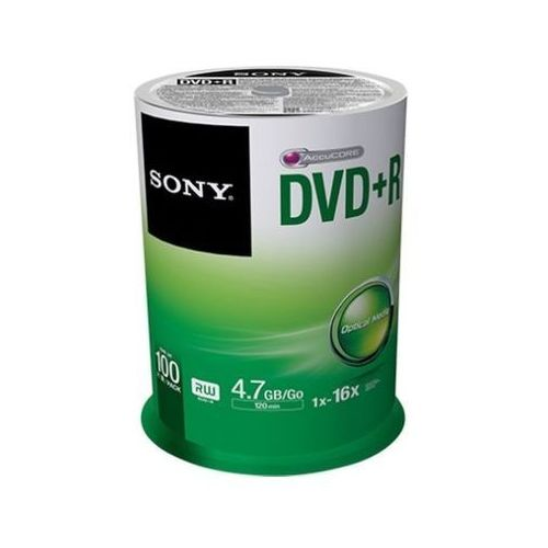 DVD+R SONY 4.7 GB 16x Szpulowy 100 szt.