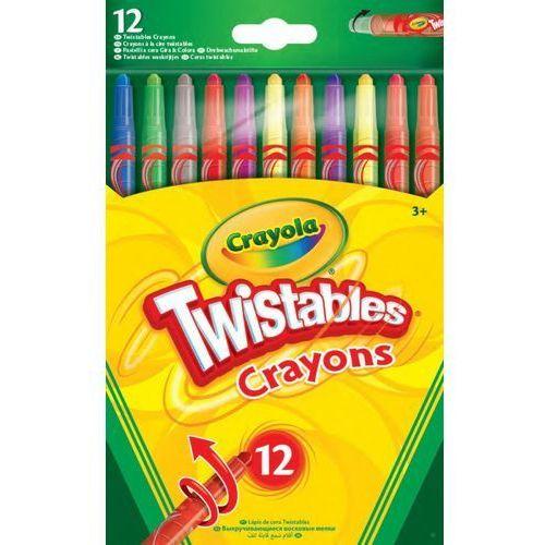 Crayola Wykręcane kredki świecowe 12 kolorów (0071662085308)